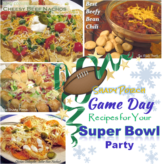 Game Day Recipes for Your Super Bowl Party