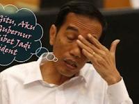 Presiden Jokowi Sudah Terlihat Panik Mikirin Rupiah, Dan Akan Mundur