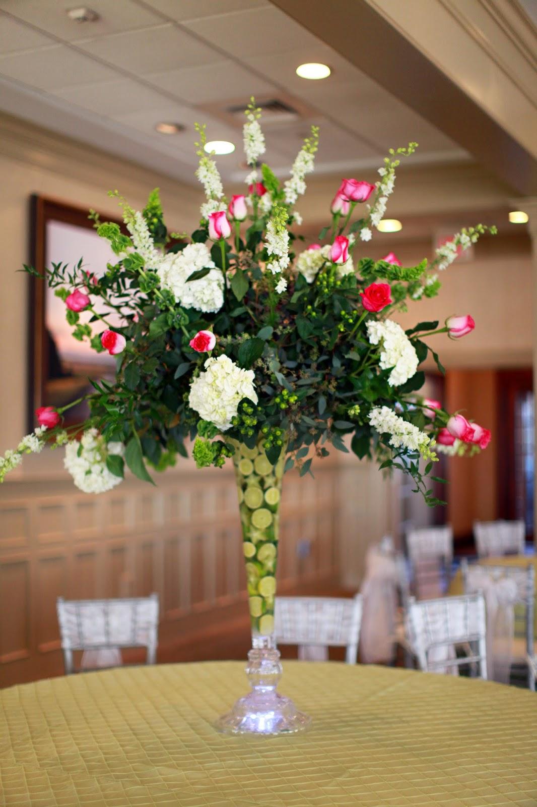Large Flower Arrangements For Knoxville Weddings