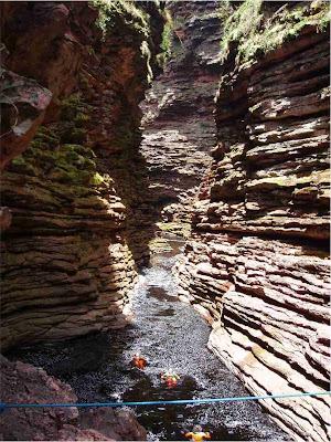 Cãnion da Cachoeira do Buracão – Ibicoara - BA