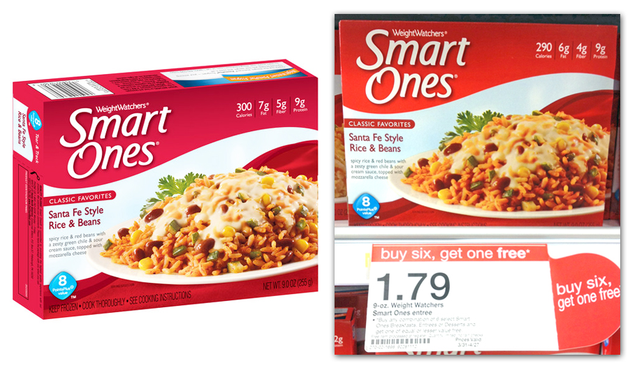 Amy 39 S Daily Dose Weight Watchers Smart Ones Less Than At Target