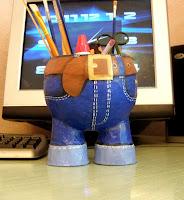 карандашница своими руками