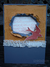 """How to""  in making a Torn Paper Frame"
