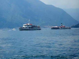 Lake Como Ferries - Lake District, Italy