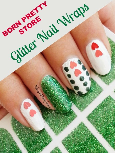 Glitter-Nail-Wraps