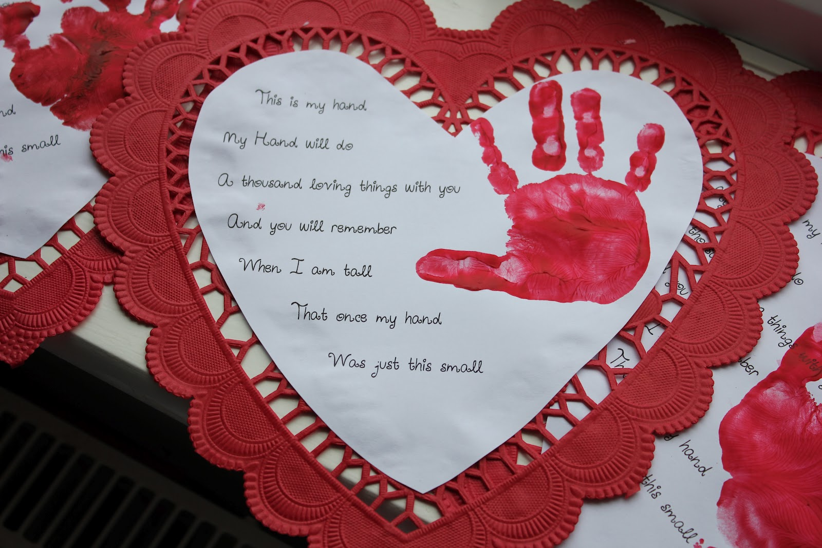 Uncategorized Valentines Day Poems For Kindergarten valentines day heart handprint poem quotes love ly oakley childcare