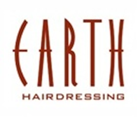 Earth hair logo