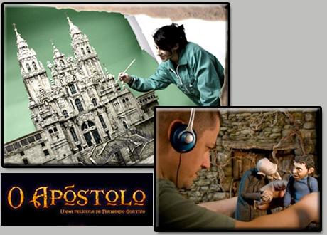 Collage trabajo en O Apóstolo