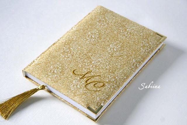 Золотой ежедневник, блокнот в золотых тонах, книга ручной работы, блокнот своими руками, роскошь золота, канцелярия hand made, подарок для сотрудницы, сувенир женщине