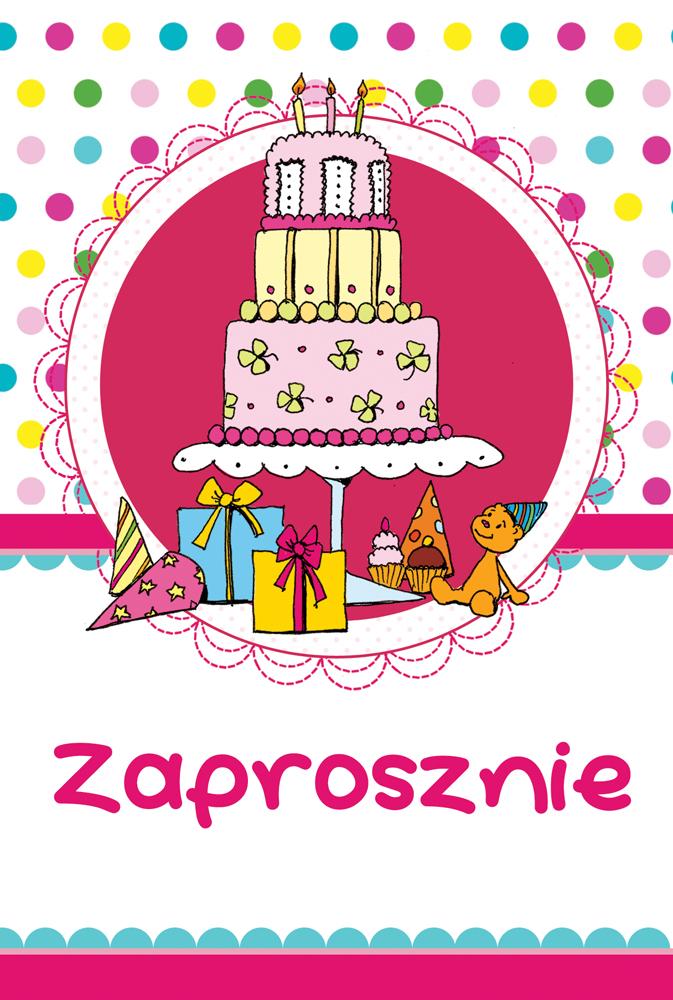 Gotowe Zaproszenia Urodzinowe Dla Dzieci Do Wydrukowania