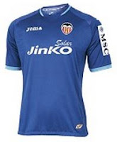 Camiseta equipación 2012/2013 Valencia C.F.