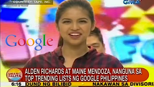 ALDUB Topped on Google Philippines Search keyword