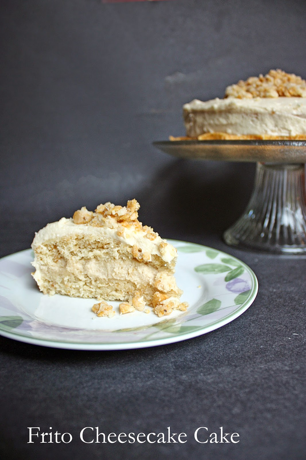 vegan frito cheesecake layer cake