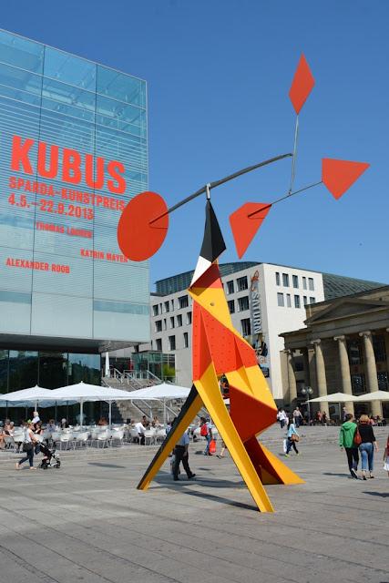 Königstrasse Stuttgart shopping Modern Art