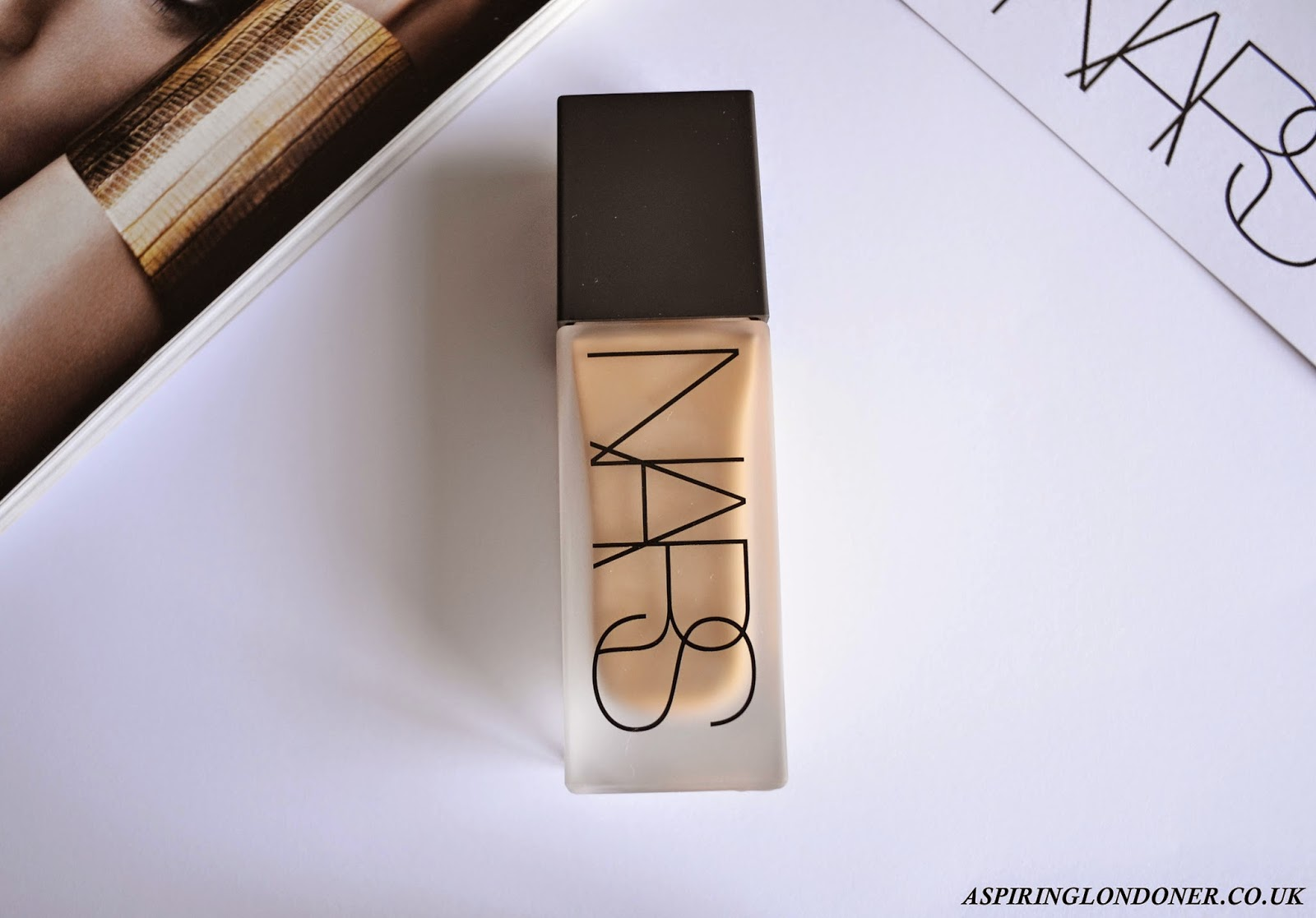 NARS All Day Luminous Weightless Foundation Review - Aspiring Londoner