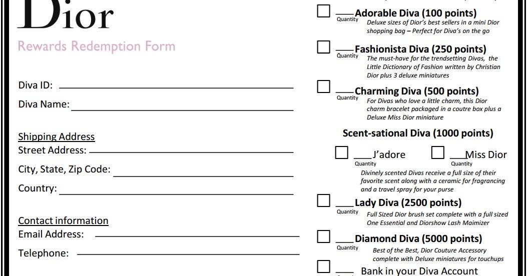 The Polish Jinx: Dior Diva Program 2013