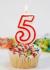 5th Blogoversary Giveaway