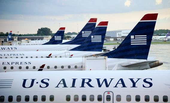 Последний самолёт бренда US Airways приземлился в США.