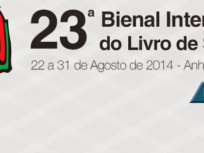 Programação da Editora Novo Século para a XXIII Bienal do Livro de São Paulo