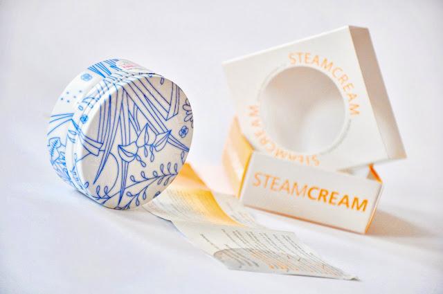 Увлажняющий крем ручной работы SteamCream