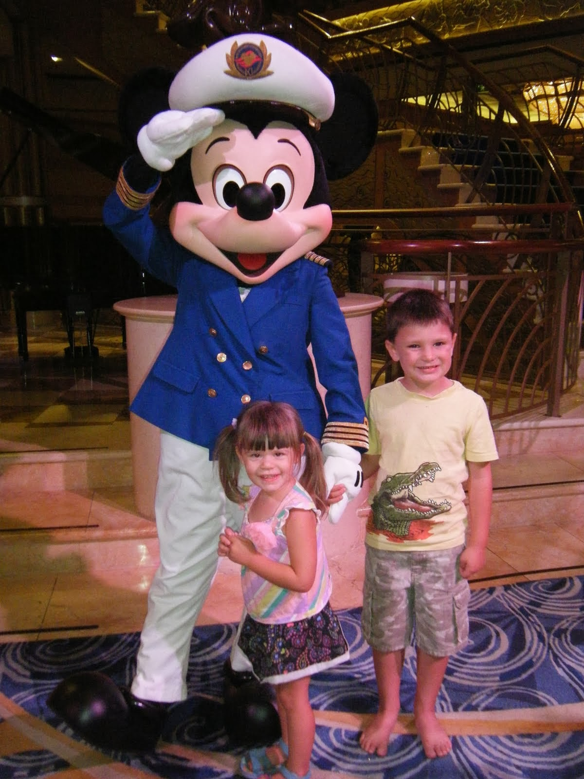 Meeting Captain Mickey