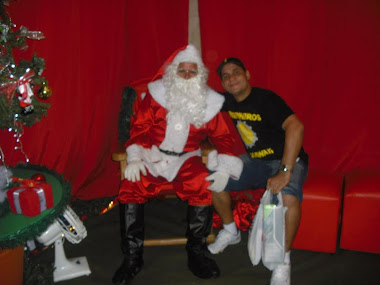 eu e noel no natal 2010