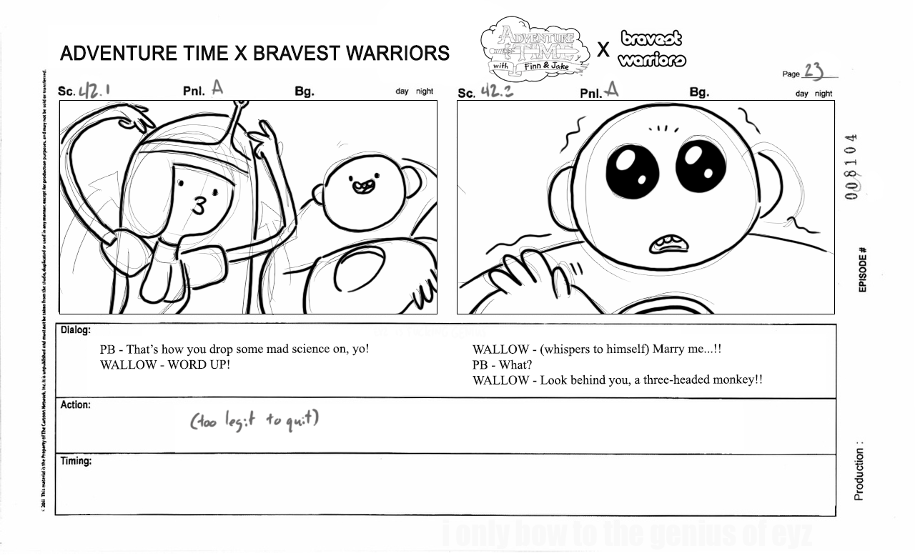 AprilFools UPDATED #CartoonHangover NEWS! Leaked storyboards from ...