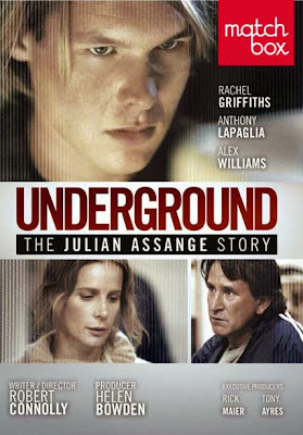 Poster Of Underground The Julian Assange Story (2012) Full English Movie Watch Online Free Download At downloadhub.net