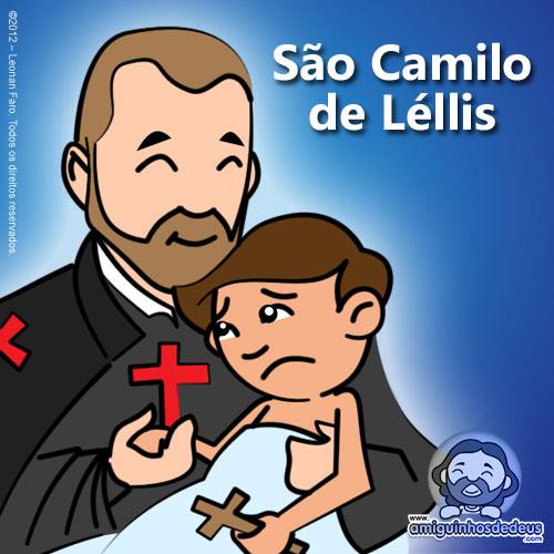 São Camilo de Léllis desenho
