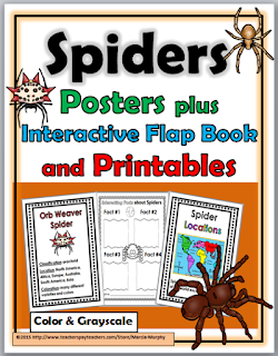 https://www.teacherspayteachers.com/Product/Spiders-2092179