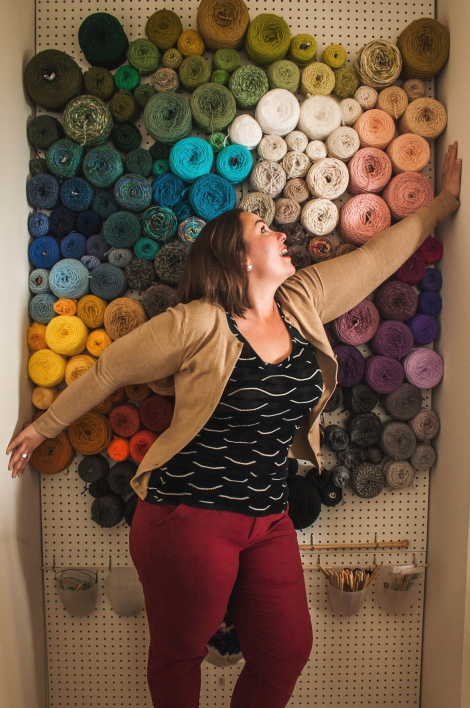 Be Different Act Normal The Best Yarn Storage Idea