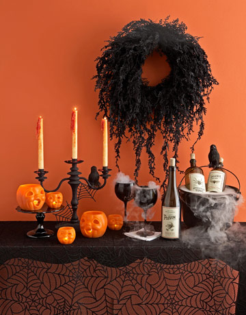 Halloween Decorating Ideas on Heart Shabby Chic  Halloween House Decor Of The Shabby Kind 2011