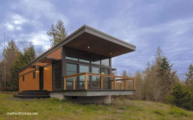 Casa prefabricada compacta norteamericana