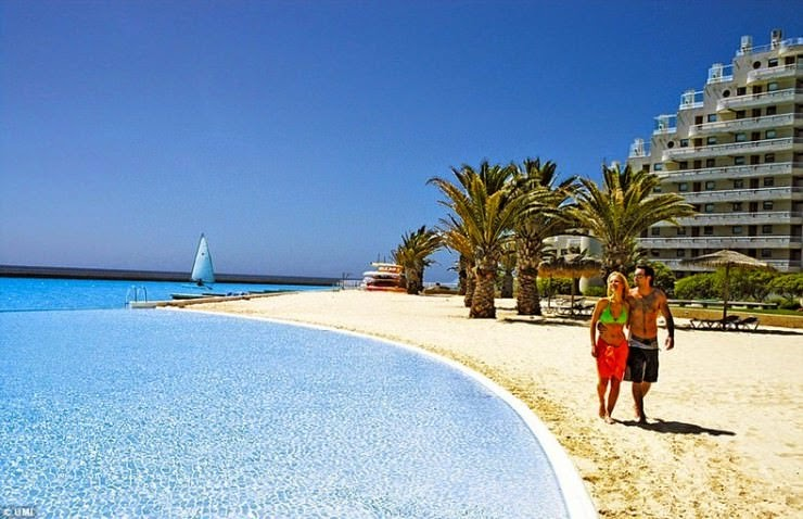 1. San Alfonso del Mar Resort, Algarrobo, Chile - Top 10 Marvelous Pools in the World