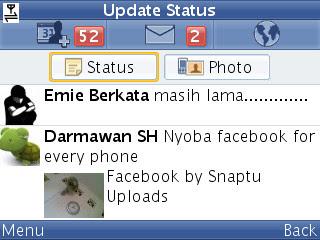 Aplikasi Facebook Untuk  hp Java Terbaru