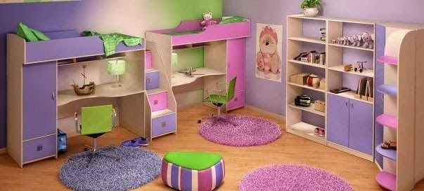 Kids Room Ideas  Dividing The Room For Boy And Girl