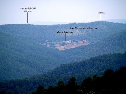 El conjunt de Sant Vicenç de Vilarassau