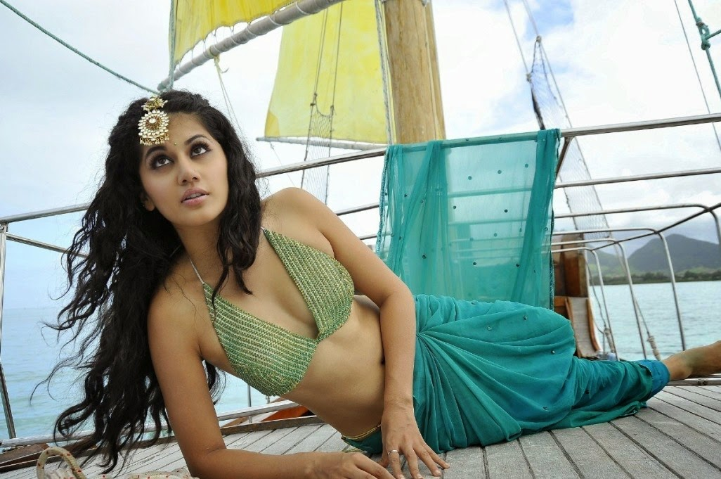 Tapsee In Mogudu Telugu Movie Glamours Photos