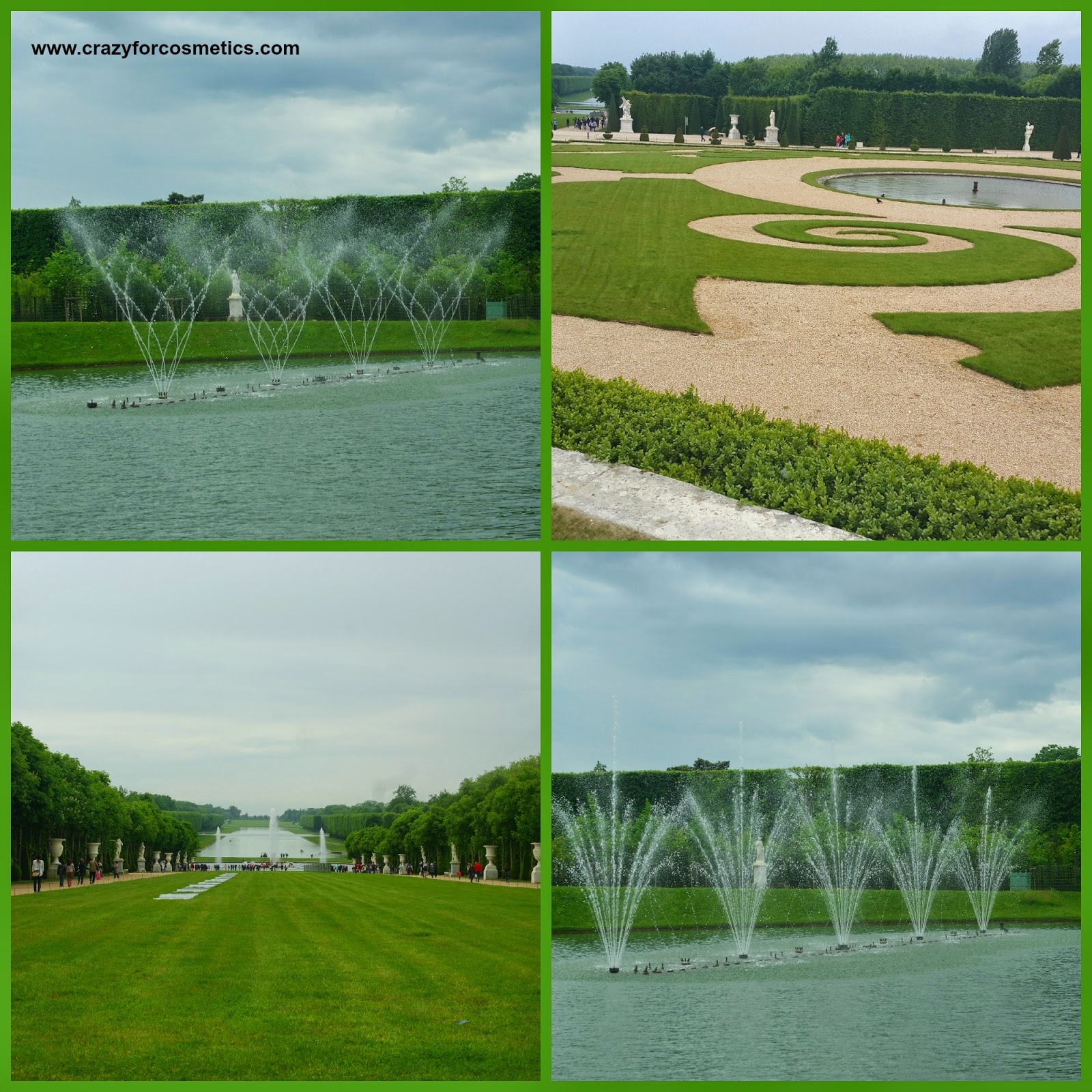palace of versailles fountain show