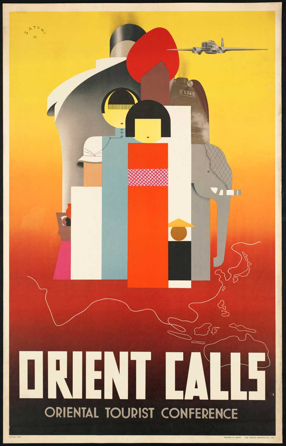 Poster design 1920s - 60 Beautiful Vintage Travel Posters Around The World From Between The 1920s And 1940s