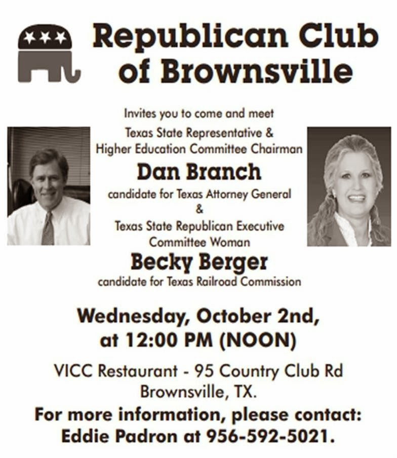 Colorado Executive Branch Part 2 Attorney General: The Brownsville Observer: Republican Club Of Brownsville