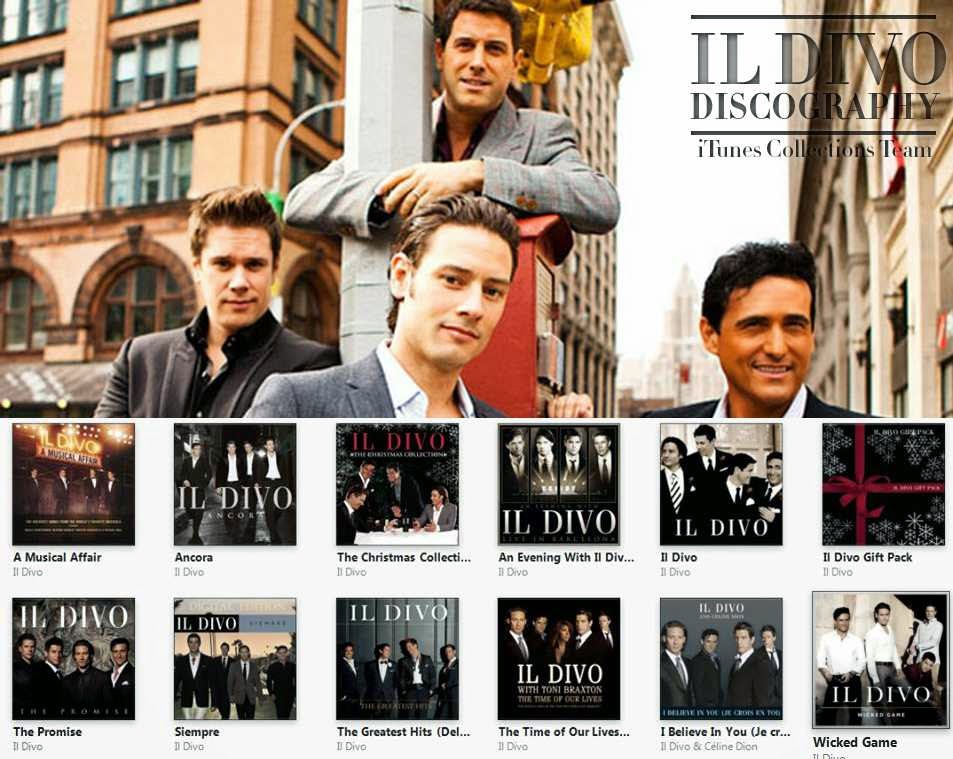 Il divo discography collection music mp3 nausilanc - Il divo songs ...