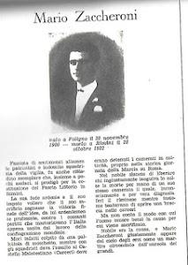 ZACCHERONI MARIO UCCISO A RIMINI IL 28 OTTOBRE 1922