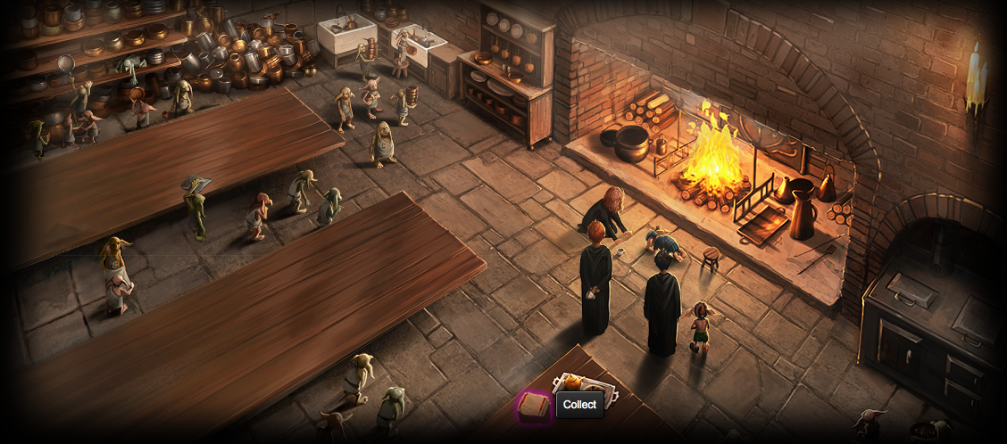Guide To Pottermore Items Gof Chp 21 Hogwarts Kitchens