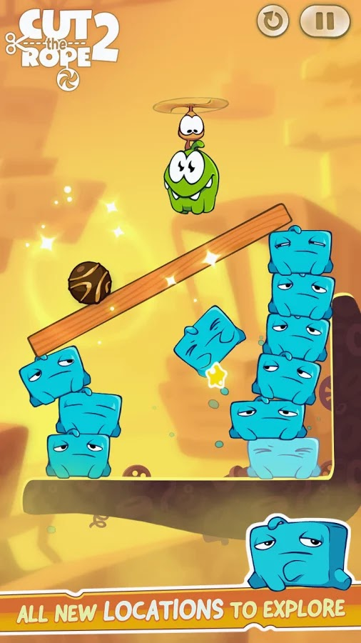 Cut the Rope 2 v1.0.2 Mod [Unlimited Coins]