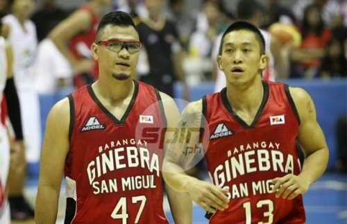 The Fast (Mark Caguioa) and the Furious (Jayjay Helterbrand)