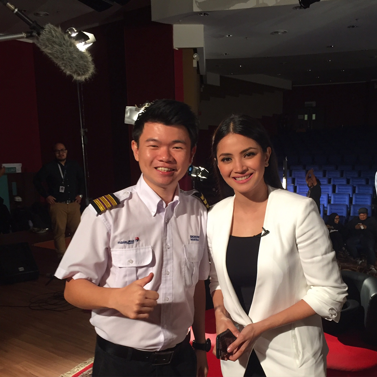 VIDEO SHOOT MALAYSIA AIRLINES WITH NUR FAZURA