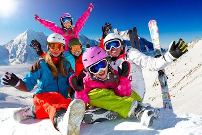 Зимний спортивный отдых