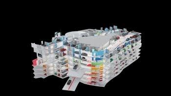Napoli parcheggio morelli sette piani nella city for Registri i piani del garage