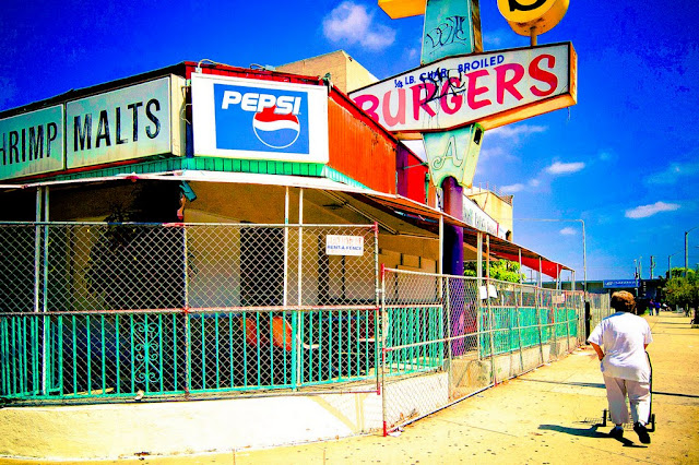 Jim's Burgers, Whittier, California (C) Glenn A Primm